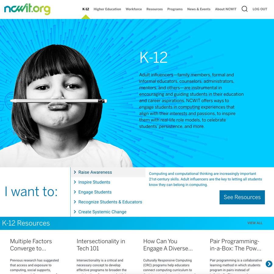 NCWIT K-12 Page