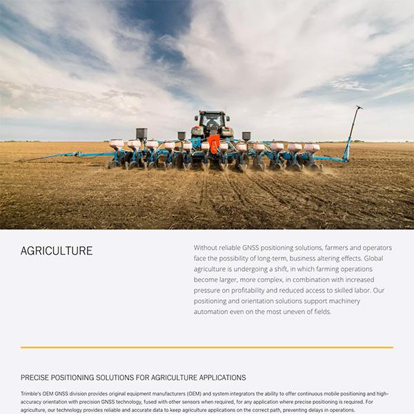 Trimble Agriculture
